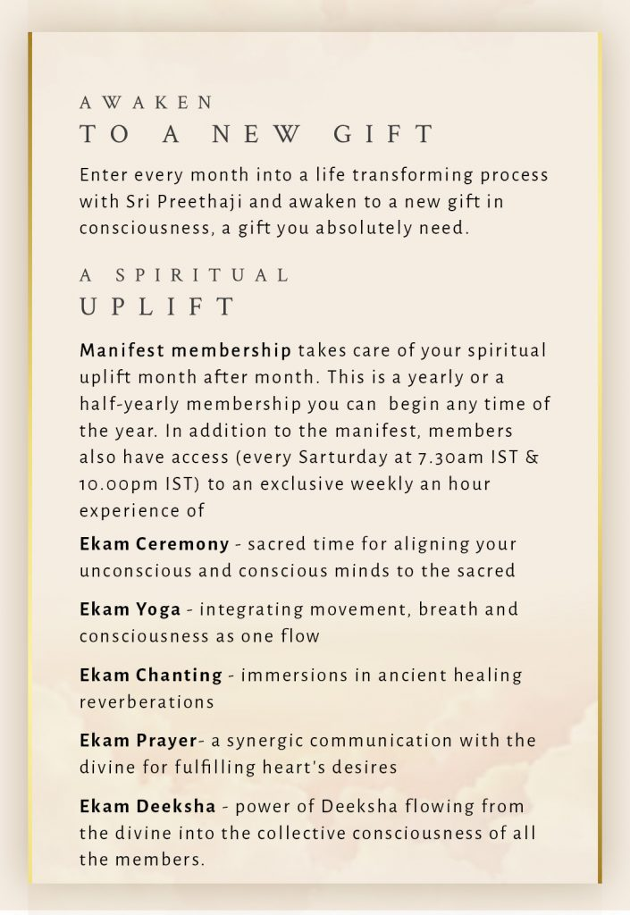 Manifest Membership Flyer, page 2 of 3